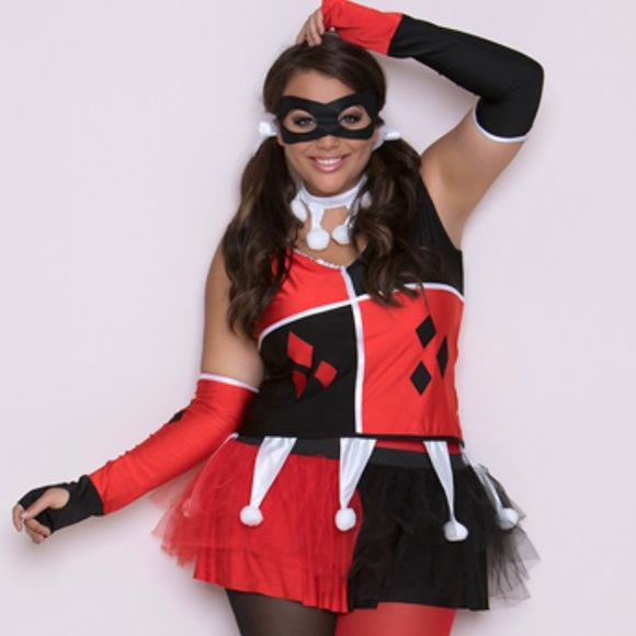 Plus Size Harley Quinn Cosplay - New Sex Images-8500